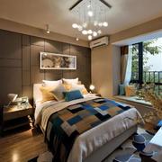 新中式风格精美卧室装修效果图欣赏