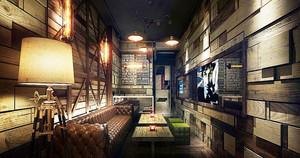 后现代风格创意酒吧装修效果图赏析