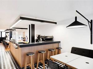 现代风格时尚创意咖啡厅设计装修效果图