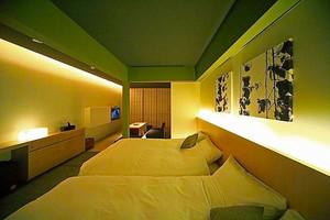 日式风格简约宾馆客房装修效果图欣赏