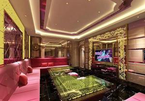 欧式风格奢华风KTV包房设计装修效果图