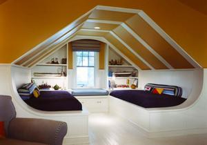 美式风格精致别墅阁楼装修效果图赏析