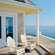 地中海风格别墅休闲室外阳台装修效果图赏析