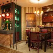 东南亚风格异域风餐厅装修效果图赏析
