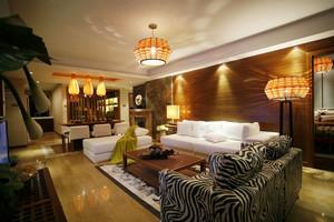 90平米东南亚风格精致室内装修效果图案例