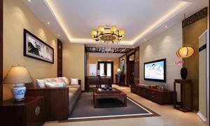 中式风格古典气质客厅装修效果图赏析