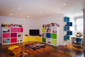 现代风格时尚缤纷彩色儿童房装修效果图大全