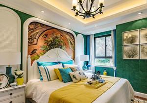 混搭风格精美卧室背景墙装修效果图赏析