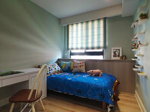 108平米欧式田园风格精装两室两厅室内装修效果图
