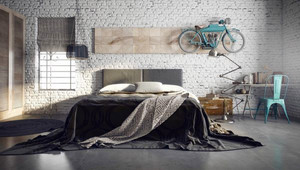 简约风格时尚创意卧室装修效果图大全欣赏