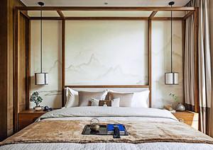 152平米新中式风格精装大户型室内装修效果图