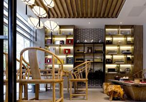中式风格精致书房装修效果图欣赏