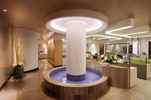 现代风格时尚大型办公室装修效果图赏析