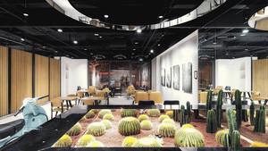 简约风格时尚咖啡厅设计装修效果图赏析