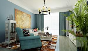地中海风格精美小户型客厅装修效果图赏析
