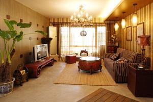 东南亚风格精致客厅装修效果图赏析