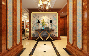 古典欧式风格精装大户型室内装修效果图案例