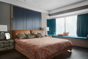 140平米后现代风格精致四室两厅室内装修效果图