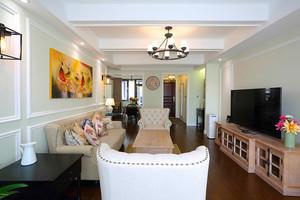 131平米简欧风格精装三室两厅两卫装修效果图赏析
