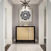 简约美式风格别墅玄关柜设计装修效果图