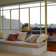 现代简约风格温馨飘窗设计装修效果图
