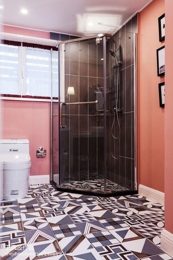 美式风格大户型精美卫生间装修效果图赏析