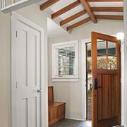 美式风格别墅室内玄关设计装修效果图赏析