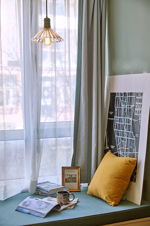 简约风格时尚飘窗设计装修效果图赏析