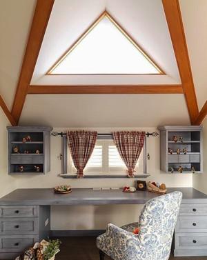 140平米田园风格温馨浅色loft装修效果图