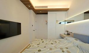 66平米现代简约风格精装一居室室内装修效果图