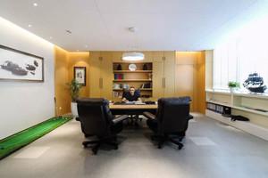 现代风格精致总经理办公室装修效果图赏析