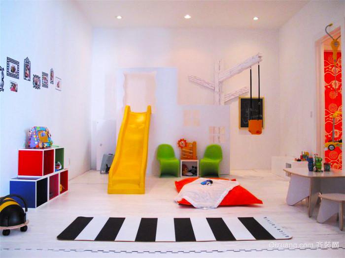 现代风格时尚多彩儿童房装修效果图大全