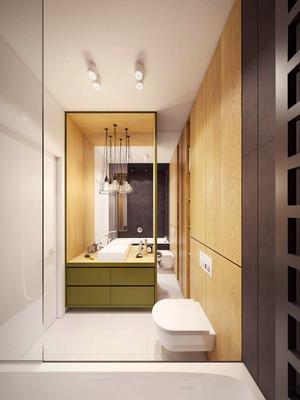 59平米现代风格精致单身公寓装修效果图赏析