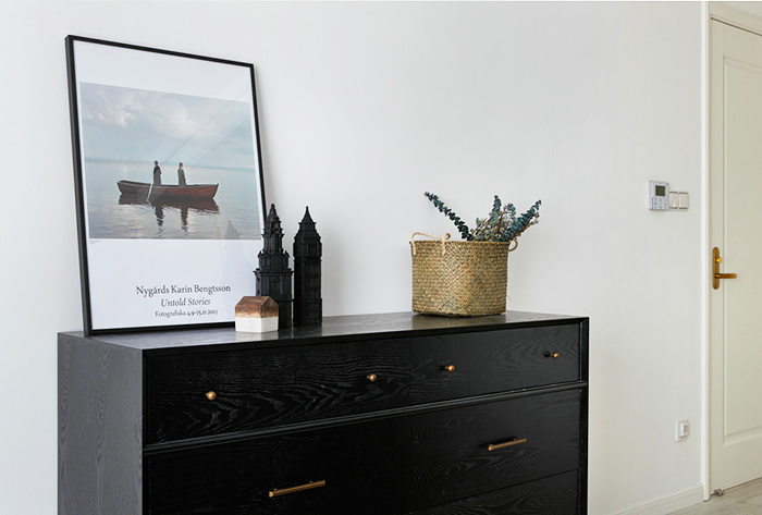 85平米后现代风格精致两室两厅室内装修效果图