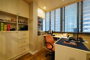 116平米混搭风格精装三室两厅室内装修效果图