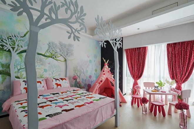 简欧风格时尚精美儿童房装修效果图赏析