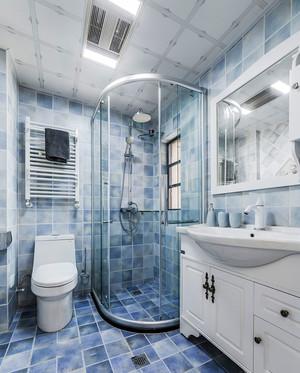 89平米清新风格时尚创意两室两厅室内装修效果图