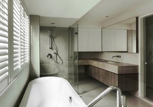 8平米现代风格精致卫生间淋浴房装修效果图