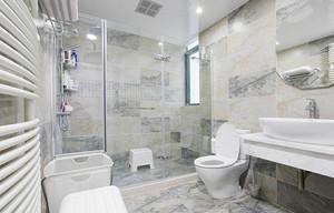 128平米新古典主义风格三室两厅室内装修效果图案例