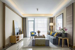 84平米宜家风格精致两室两厅室内装修效果图