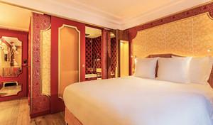 欧式风格精致酒店客房设计效果图