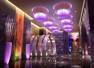 现代风格时尚酒吧大厅设计装修效果图
