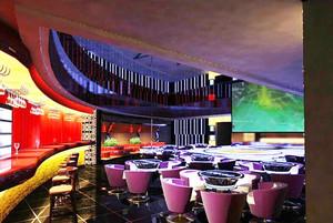 140平米现代风格中型酒吧装修效果图
