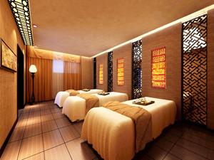 中式风格宾馆客房设计装修效果图