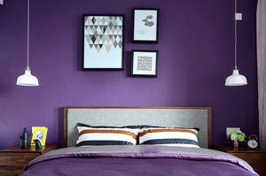 86平米北欧风格清新两室两厅室内装修效果图