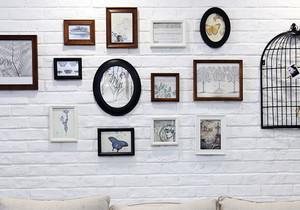北欧风格时尚照片墙装修效果图赏析