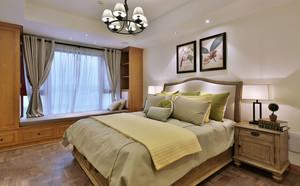 美式乡村风格精致三室两厅室内装修效果图赏析
