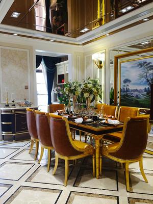 400平米欧式风格奢华别墅室内装修效果图