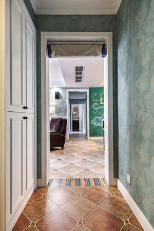 现代简约美式风格精装三室两厅室内装修效果图赏析