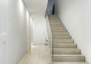 现代简约风格复式楼梯设计装修现代沟通